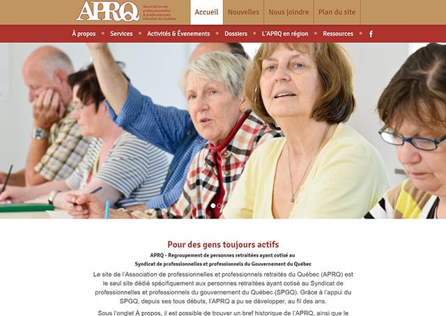 APRQ (Associations de Professionnelles et professionnels Retraités du Québec)