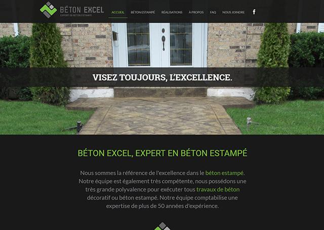 Béton Excel