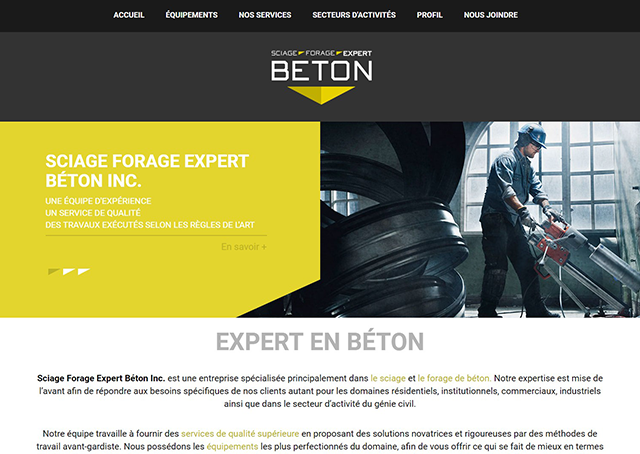 Sciage Forage Expert Béton