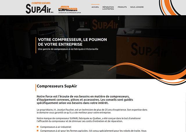 Compresseurs SupAir
