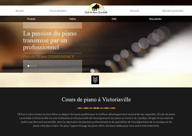École de piano Larochelle